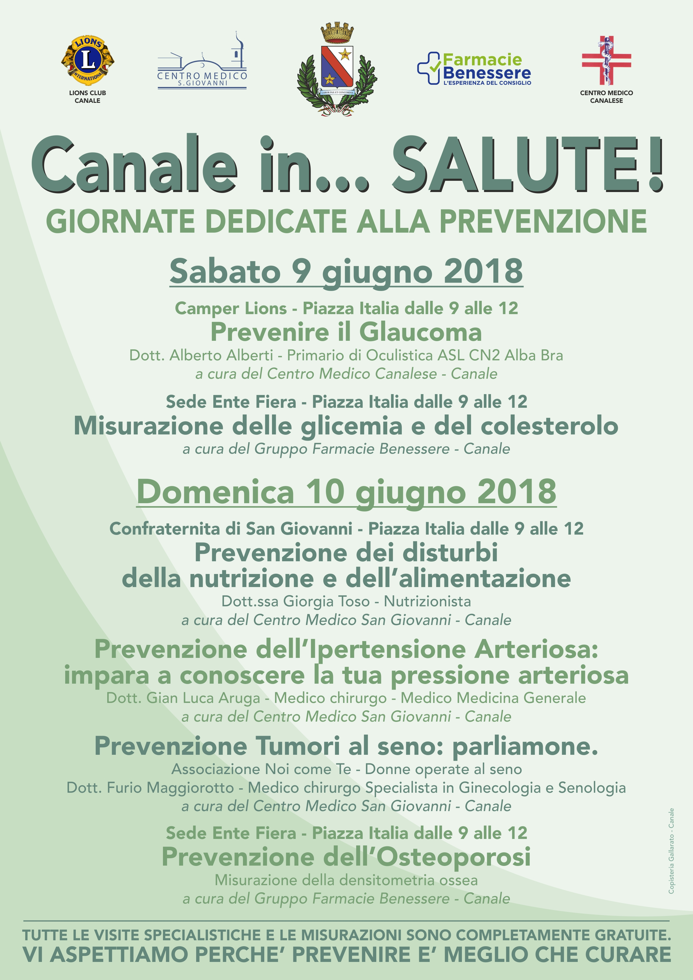 Canale in... Salute!
