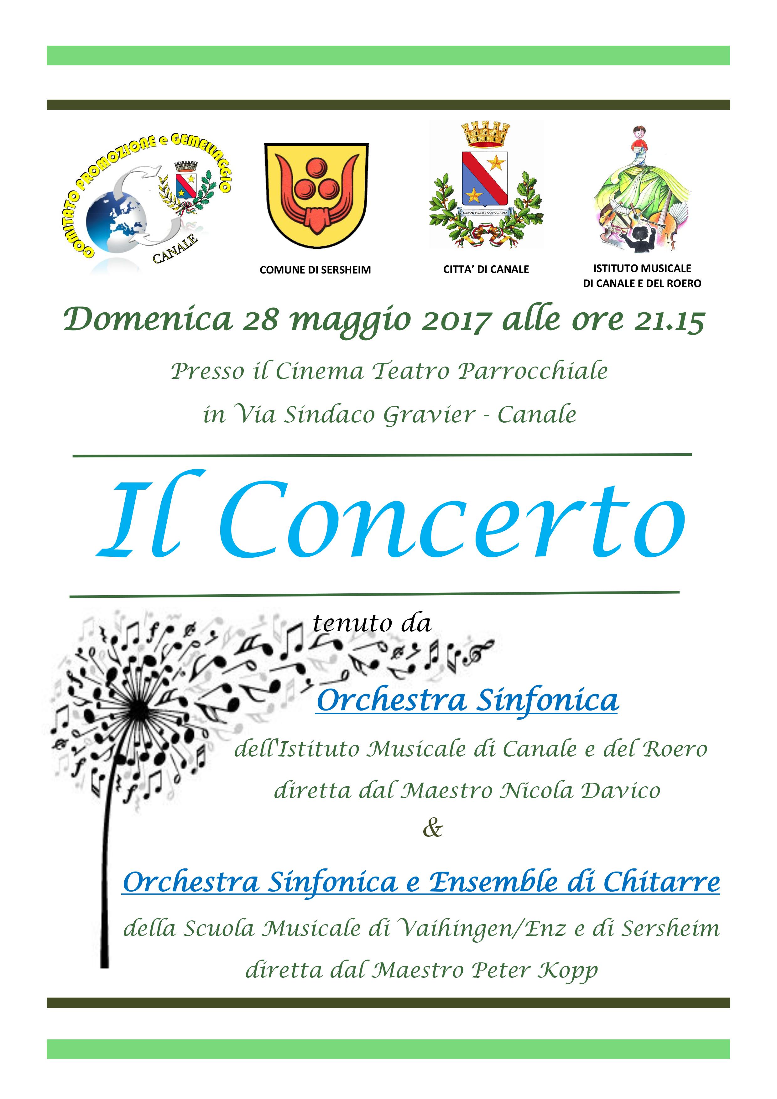 Concerto 28 maggio